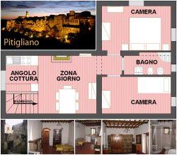 Affitto appartamento in Maremma, Pitigliano